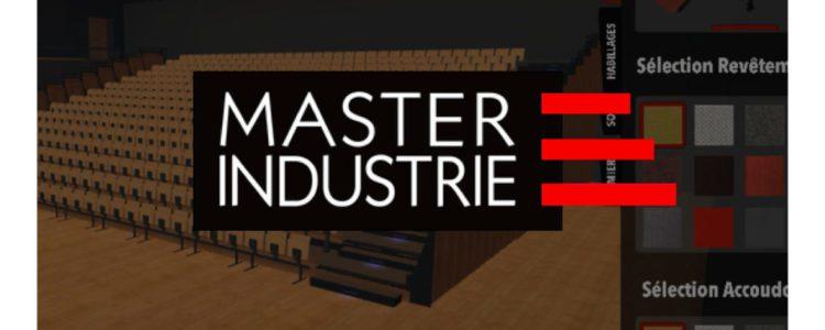 Master Industrie – Configurateur 3D de tribune